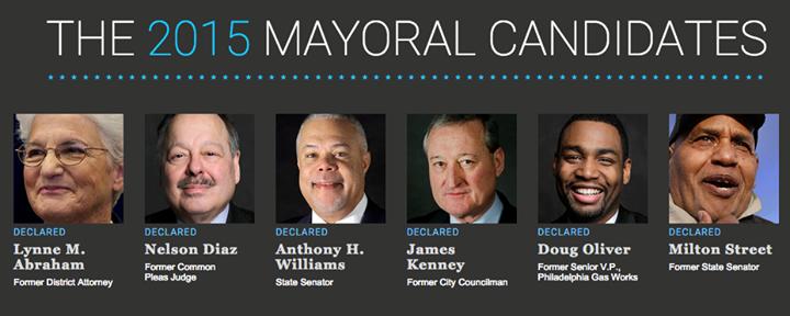 Philadelphia Mayoral Candidates